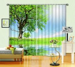 3D Tree Sunshin037 Blockout Photo Curtain Print Curtains Drapes Fabric Window UK - $145.49+