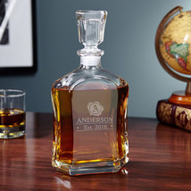 Wax Seal Personalized Whisky Decanter - $59.95