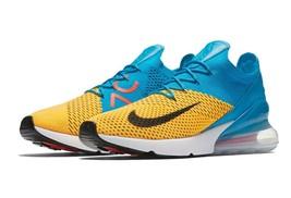 Nike Men's Air Max 270 Flyknit Running Shoes (Blue Orbit) NIB AO1023-800... - $74.99