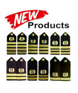 NEW US NAVY AUTHENTIC JUDGE ADVOCATE SHOULDER BOARDS RANKS Hi Quality CP... - $30.20+