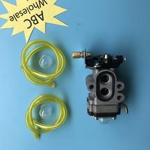 Carburetor & Fuel Line For Husqvarna Leaf Blower 504116101 Fit 130BT and... - $23.86