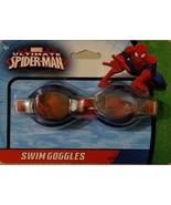 Marvel Spider Man Swim Goggles With Adjustable Strap - $5.70