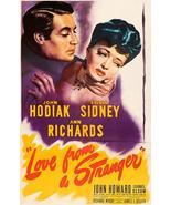 Love From A Stranger - 1947 - Movie Poster - $9.99+