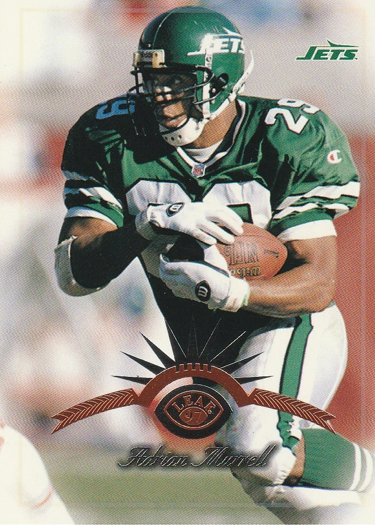 Primary image for 1997 Leaf #63 Adrian Murrell