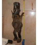 ANCIENT SCULPTURE Bakongo, NIKISI. COMES FROM AFRICAN TURN Nganga - $850.00