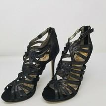 Sam Edelman Eve Women's Dress Sandals Granite Size 9 US 40 EUR 7 UK NEW With BOX - $65.44