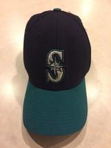 Vintage Seattle Mariners Snapback Cap Hat Baseball MLB Genuine Merchandise - $19.75
