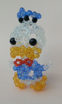 "Handmade Round Beads Transparent Donald Duck Figure 3.75"" H / 9 cm H - $15.99"