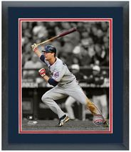 "11"" x 14"" Framed & Matted Justin Morneau Twins - ""Spotlight Action Photo"" - $43.95"