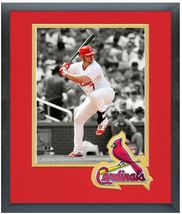 "11"" x 14"" Framed & Matted Matt Holliday Cardinals - ""Spotlight Action Ph... - $43.95"