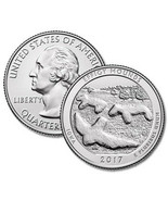 2017 P- Iowa Effigy Mounds Quarter Uncirculated - $3.79