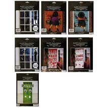 MB* (1) Set WINDOW/DOOR DECOR Party Decoration HALLOWEEN Cover *YOU CHOO... - €2,60 EUR