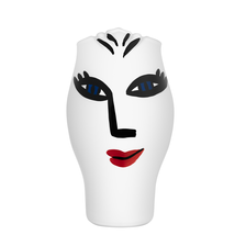 Kosta Boda Open Minds Vase (White) by Ulrica Hydman-Vallien - $282.15