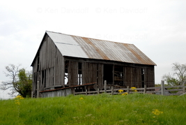 Field Barn #1, 12x18 Photograph - $199.00