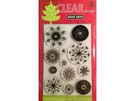 Hero Arts Snowflakes Stamp Set #CL562 - $11.99