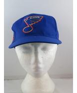 St Louis Blues Hat (VTG) - Blockhead by American Needle - Adult Snapback - $75.00