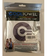 COOLTOWEL Super Cooling Towel for Sports Workout Fitness Gym Yoga Pilate... - $4.94