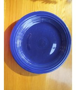 """40s vintage Fiestaware dark blue plate -  10"""", A++ condition, a real beauty! - $49.49"""