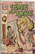 Time For Love #46 1976-Charlton-spicy panels-mad art style cover-FN - $37.83