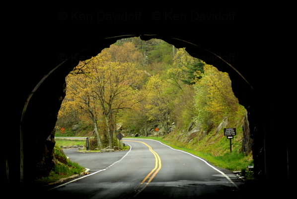 Shenandoah National Park Tunnel, Va, 12x18 Photograph