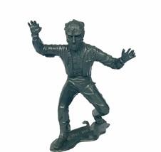 "Universal Monster Marx plastic 6"" figure Wolfman Werewolf wolf man silve... - $49.45"