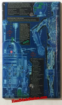 Star Wars R2D2 C-3PO Blueprint Light Switch Outlet wall Cover Plate Home Decor image 3