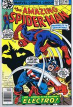 Amazing Spider-Man #187 ORIGINAL Vintage 1978 Marvel Comics Captain America - $27.90