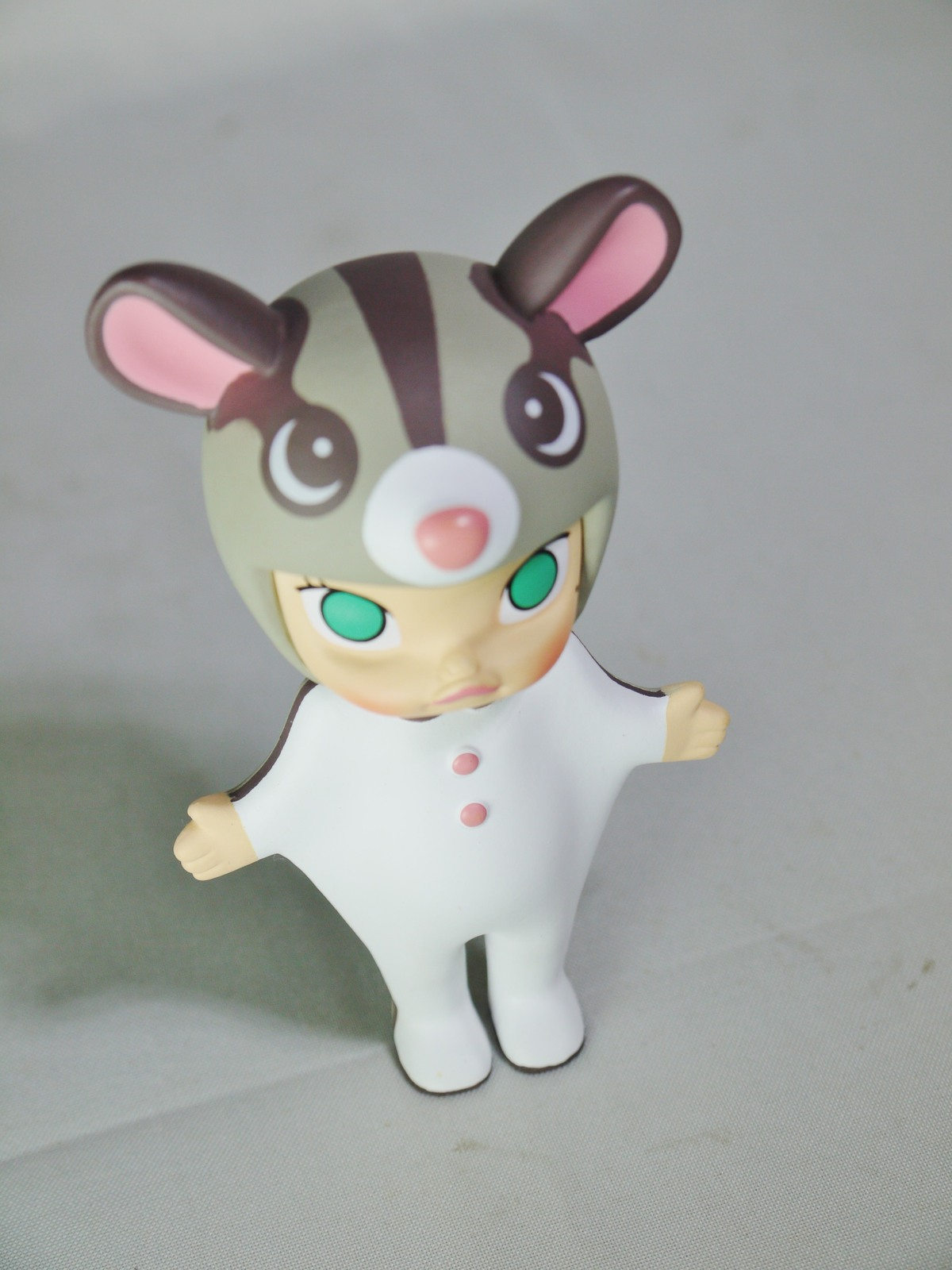 POP MART Kennyswork BLOCK Little Molly Chinese Zodiac Rat Flying Squirrel Figure