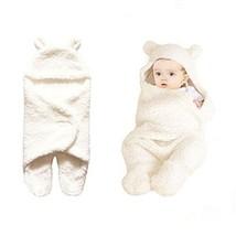 Kohmui Neugeborene Baby Schlafsack Weiß Decke für 0-12 Monate Baby, Wick... - $30.59