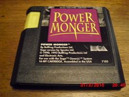 PowerMonger (Sega Genesis, 1993) - $9.85