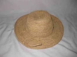 "Great 20 1/2"" SCALA Panama Straw Hat Hand Crafted - $57.87"