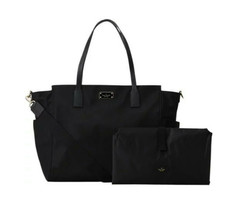 NWT KATE SPADE NEW YORK Blake Avenue KAYLIE Baby Diaper Bag Nylon Black ... - £164.92 GBP