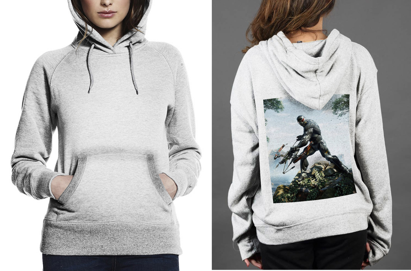 Primary image for CRYSIS Hoodie Women's White
