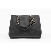Michael Kors Ladies Cynthia Black Leather Satch... - $427.90