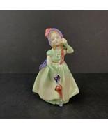 "Vintage Royal Doulton Porcelain Lady Figurine Babie HN1679 5"" Tall - $27.99"