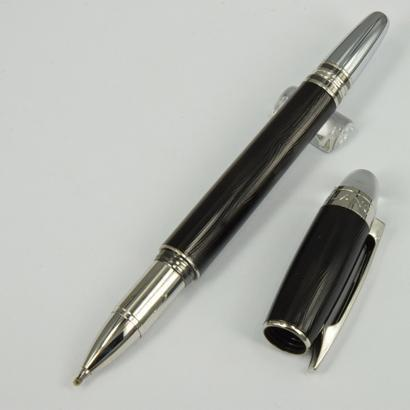 Wholesale - Luxury Silver Checker HOT Rollerball Pen M Crytal Top Metal Roller b
