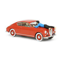 THE ITALIAN LANCIA AURELIA 1/24 VOITURE TINTIN CARS THE CALCULUS AFFAIR 2019