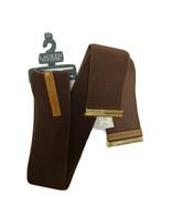 Lauren Ralph Lauren elastic brown belt size plus 3X - $19.69