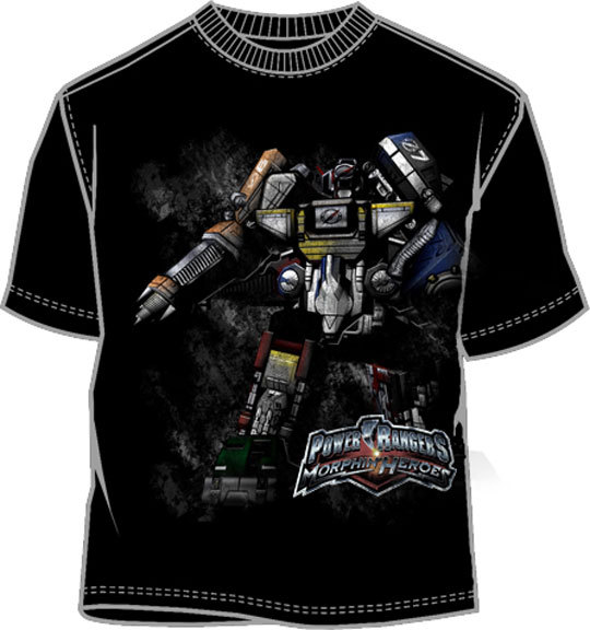 Power Rangers Extension Zord T-Shirt (Youth) Brand NEW!