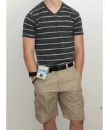 Men's Belted Denali Hybrid Cargo Shorts - $17.99