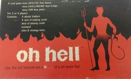 Vintage Cadaco Inc. Game Oh Hell 1960-70's  #390 . - $40.00