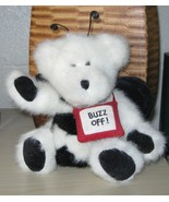 Bumble Bee Teddy Bear by Boyds Razz-Beary Collection, Black and White, U... - $7.99