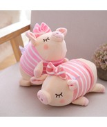Cute Lovers Pig Plush Toy 2019 Chinese Zodiac Symbol Sleeping Piggy New ... - $9.99