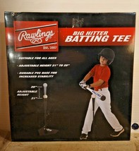 "New Rawlings Big Hitter Batting Tee Adjustable from 21"" - 29"" - $21.99"