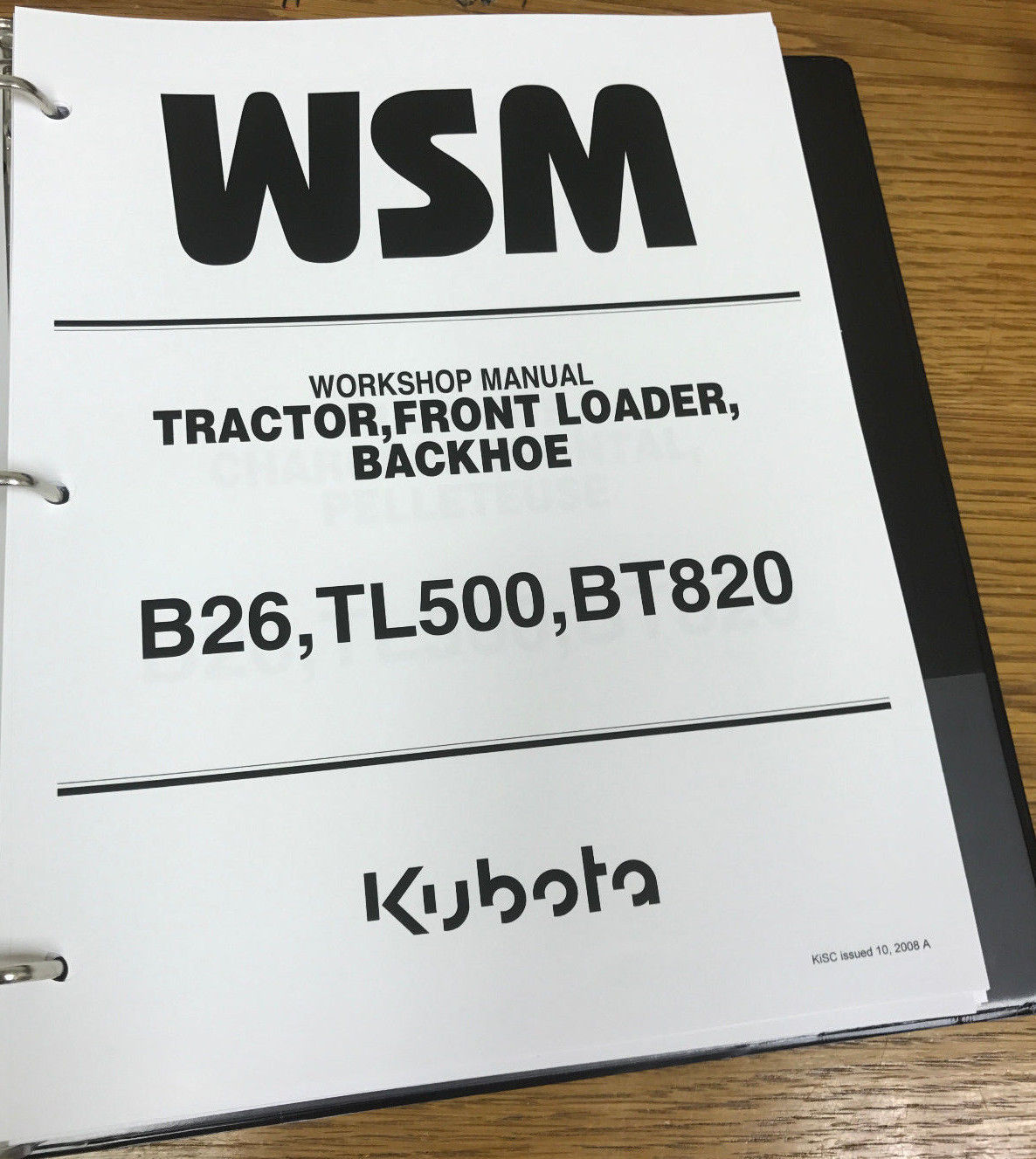 Kubota B26 B 26 tractor BT 820 backhoe TL and 13 similar items. 11