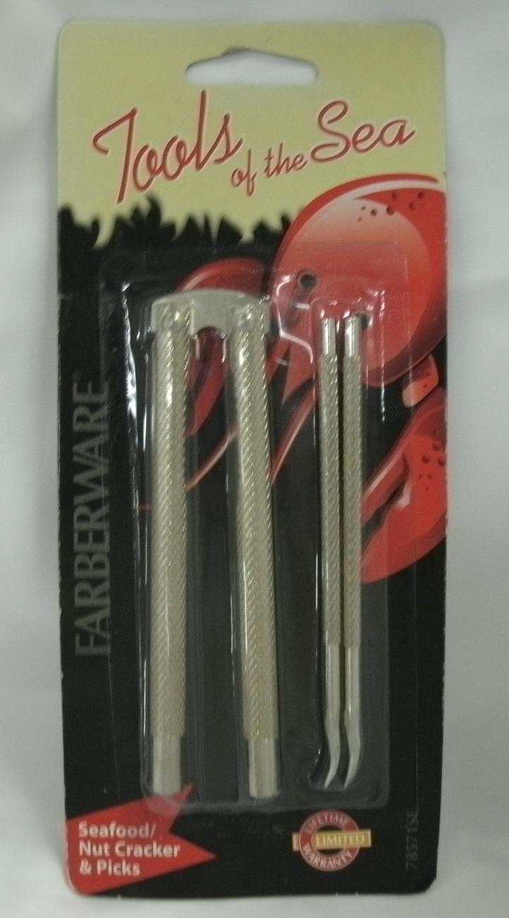 FARBERWARE - Tools of the Sea - SEAFOOD / NUT CRACKER & PICKS - NEW