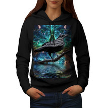 Surreal Galaxy Raven Sweatshirt Hoody Star Crow Women Hoodie - $21.99+