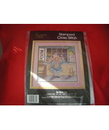 GOLDEN BEE STAMPED CROSS STITCH  KIT.  NIP. TOY STORE. - $12.99