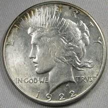 1922-S Peace Silver Dollar CH AU Coin AG54 - $30.89