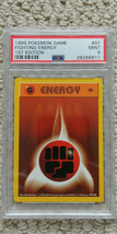 Pokemon Fighting Energy 97/102 1st Edition Base Set PSA 9 1999 Game Shadowless - $24.99